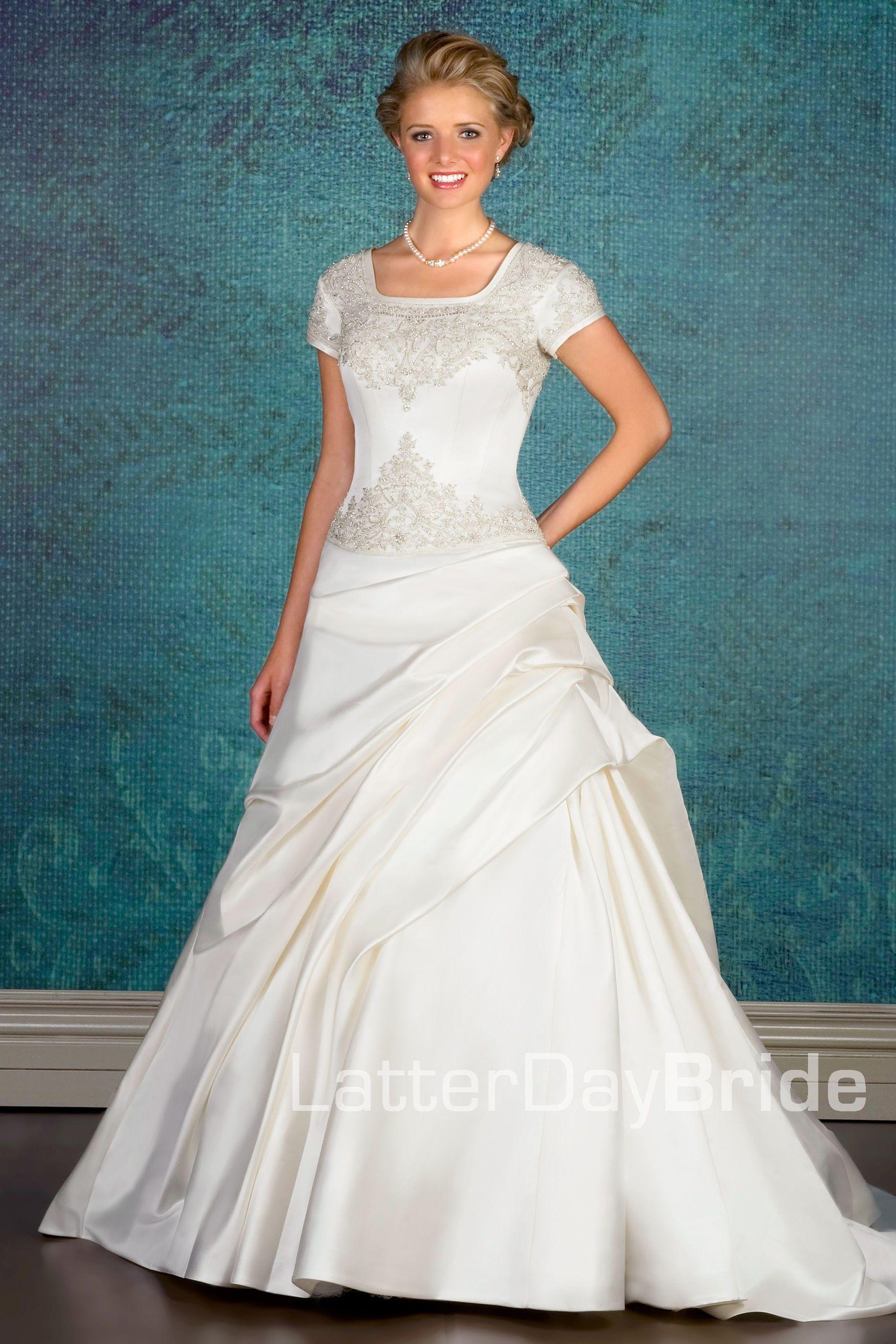 Modest Wedding Dress, Schouler LatterDayBride & Prom