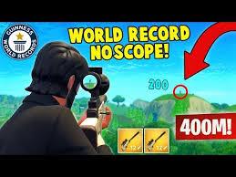 Fortnite No Scope Sniper Google Search World Records Sniper Fortnite