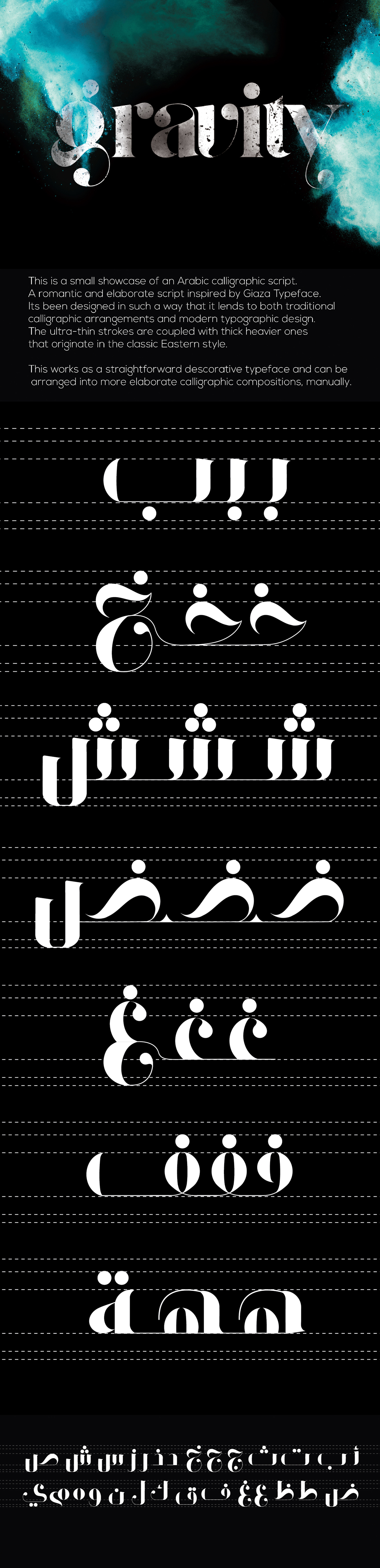 All rights reserved for aly bassam script gravity