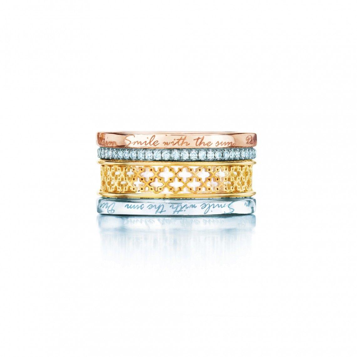 Birks Muse® Diamond Rings Set