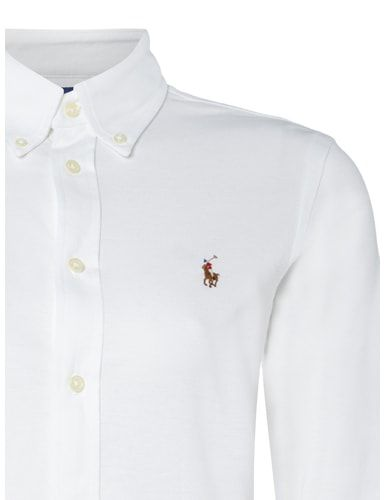 Bluse mit Button-Down-Kragen Polo Ralph Lauren online kaufen - 1 ... 525d5b44cb92