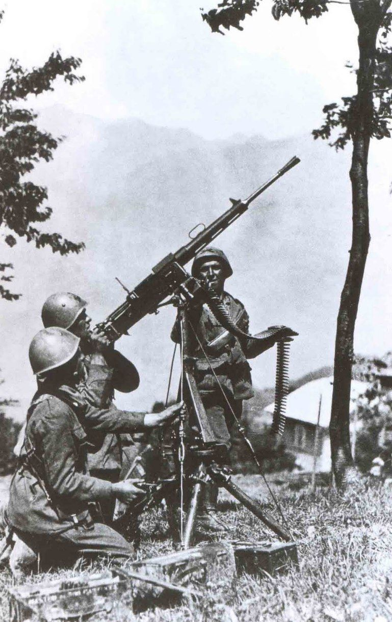 Italian fiat revelli modello 1935 heavy machine gun world war 2 italian fiat revelli modello 1935 heavy machine gun sciox Images