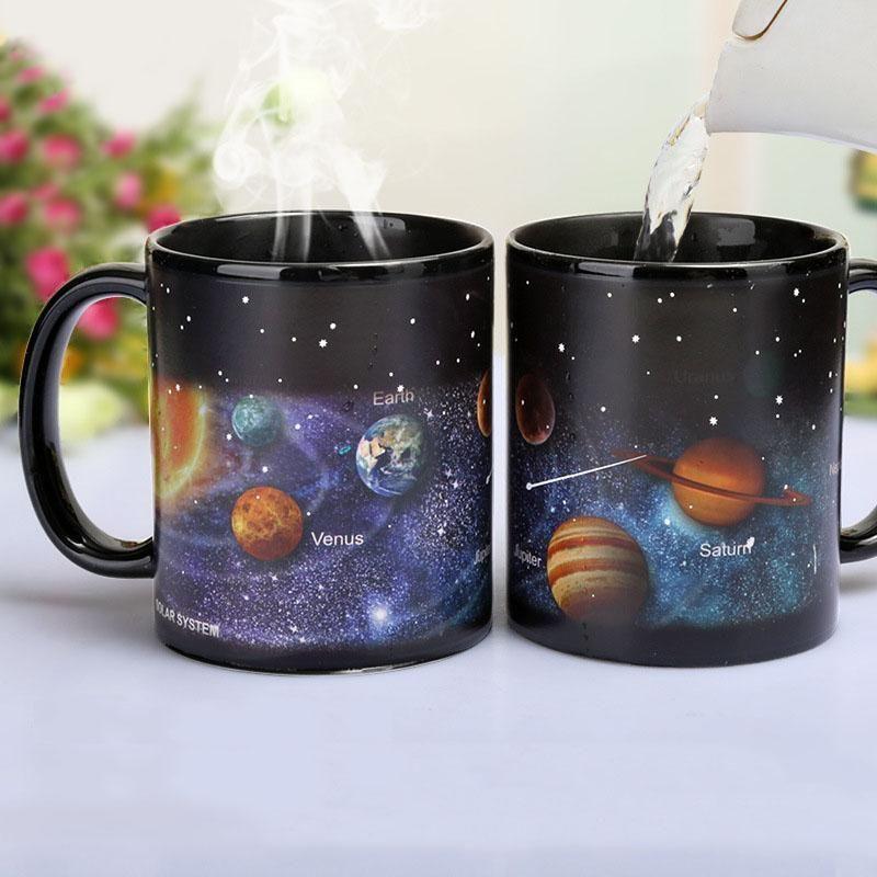 Galaxy Magic Mug Mugs Unique Coffee Mugs Porcelain Mugs