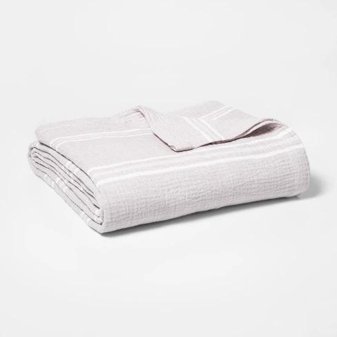 Gauze Bed Blanket Threshold Blanket Light Bed Blanket Gauze Blanket