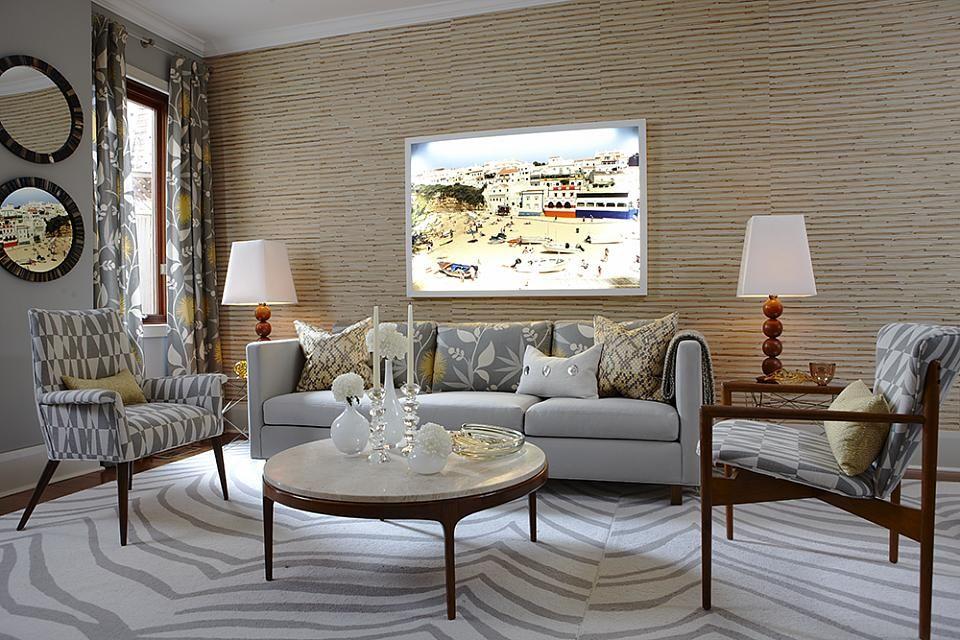 Sarah Richardson Sarah 101 Contemporary Living Room Midcentury Modern  Furniture Part 12