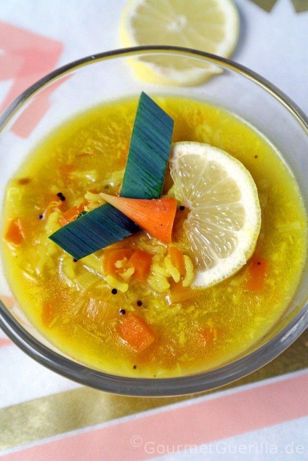 Ayurvedische Zitronen-Reis-Suppe | Reis, Zitrone Und Ayurvedische