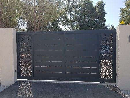 portail coulissant d coupe laser d sign vente portails hy res toulon aix en provence porte d. Black Bedroom Furniture Sets. Home Design Ideas