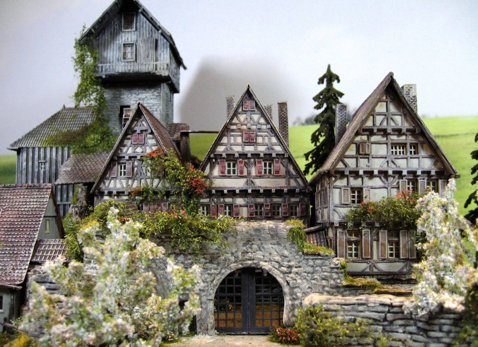 burg festung schloss diorama burg silberstein ebay modellbau pinterest. Black Bedroom Furniture Sets. Home Design Ideas