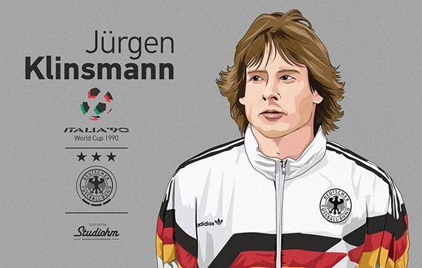 Jurgen Klinsmann World Cup 1990