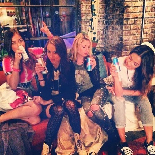 The 4 sweetys #pll