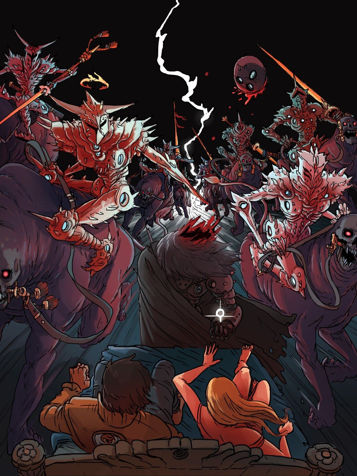 Kill 6 Billion Demons (With images) Rpg character, Anime
