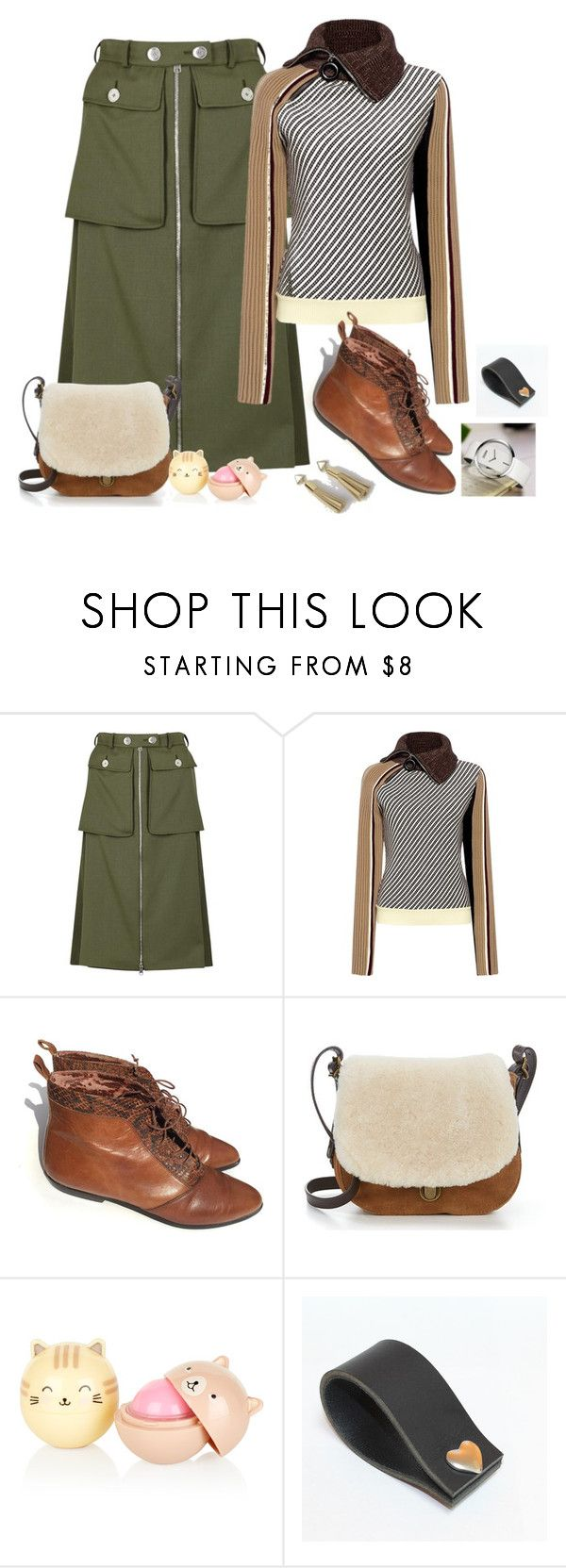 """""""Teaching Class"""" by freida-adams ❤ liked on Polyvore featuring Alexander McQueen, Carven, UGG, winterstyle, bellastreasure, bellacuff and bellaswatches"""