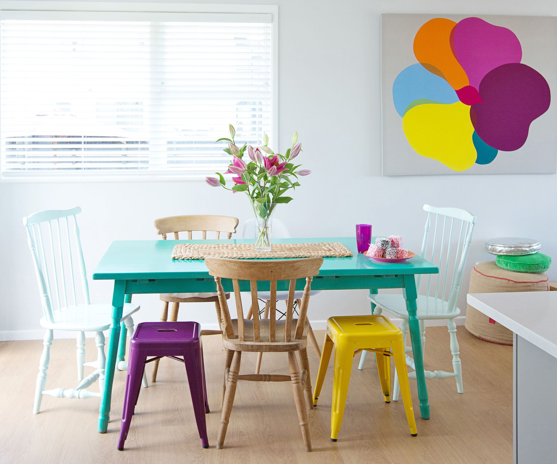 ways to add colour to your home without painting the walls home