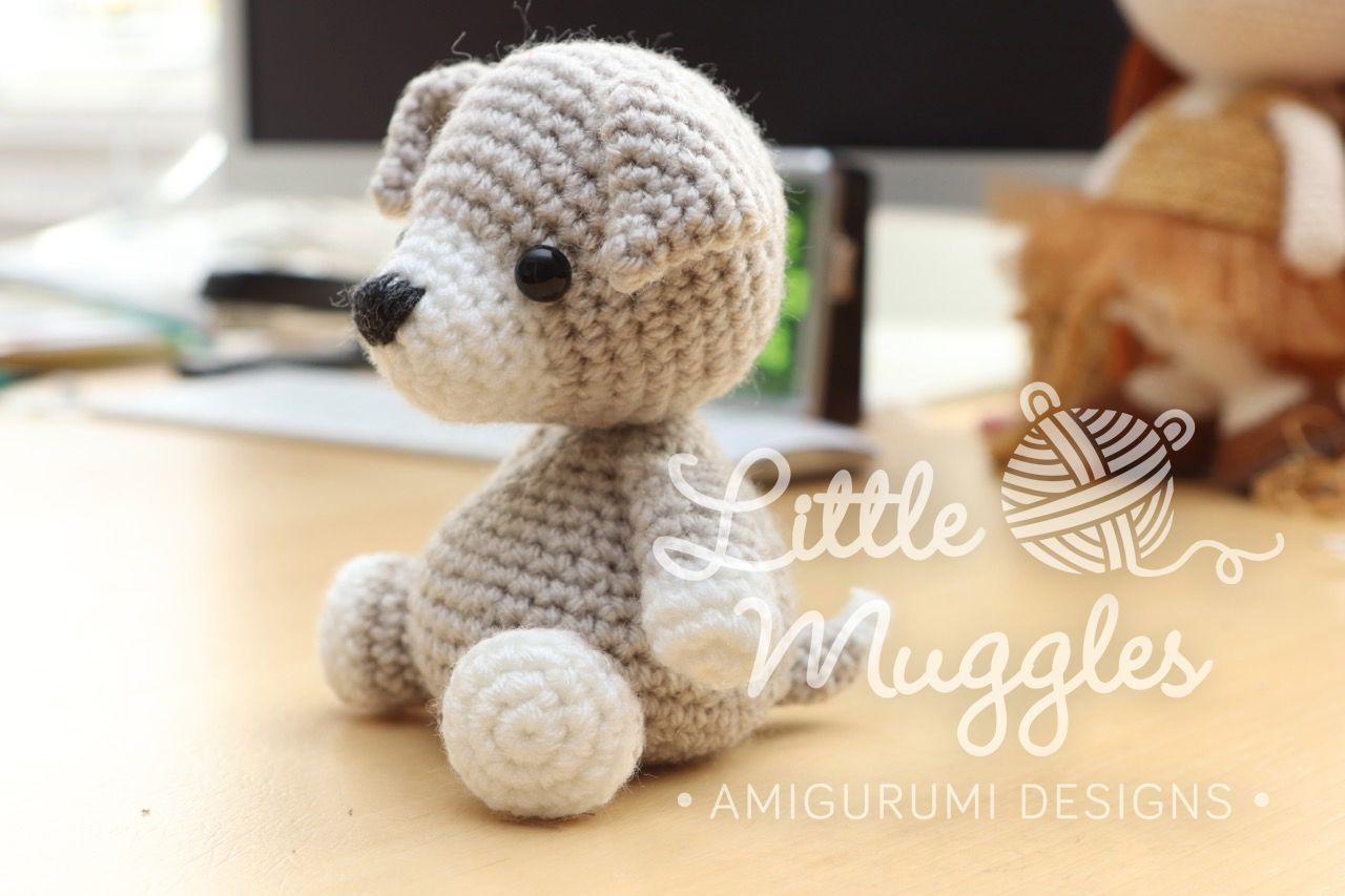 Little Muggles | Puppy Beanbag Buddy Pattern | Crochet | Pinterest ...