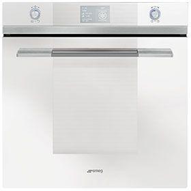 white oven, Einbaubacköfen : Pyrolyse - SFP130B | SMEG | Smeg ... | {Einbaubacköfen 24}