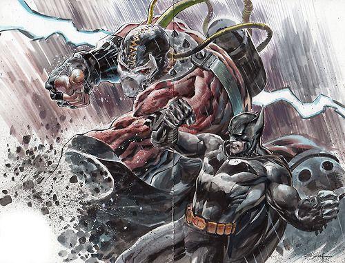 Bane vs Batman - Adrian Syaf