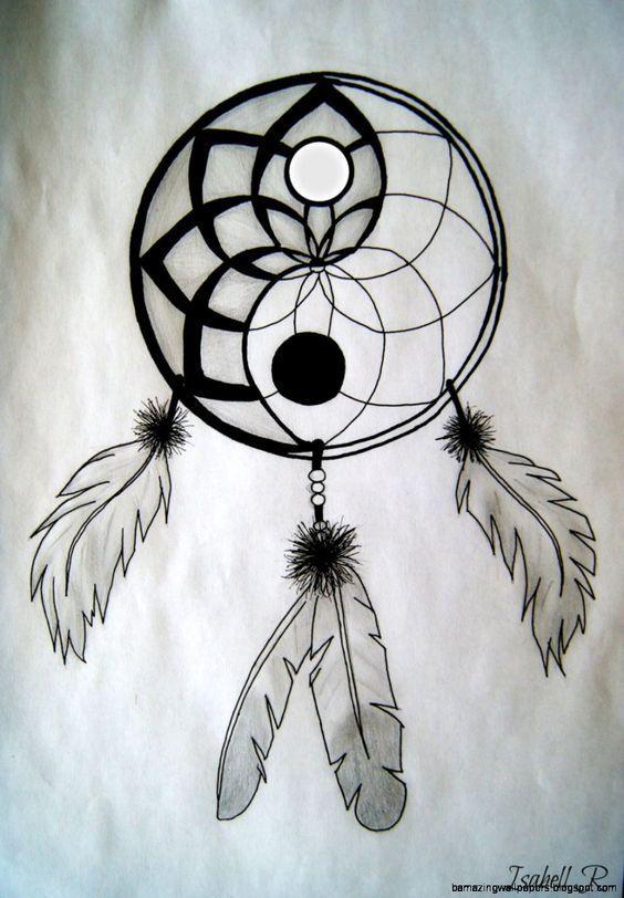 Resultado De Imagen Para Dibujos Faciles Atrapasueños Dibujo Dibujos Hípster Cómo Dibujar Cosas