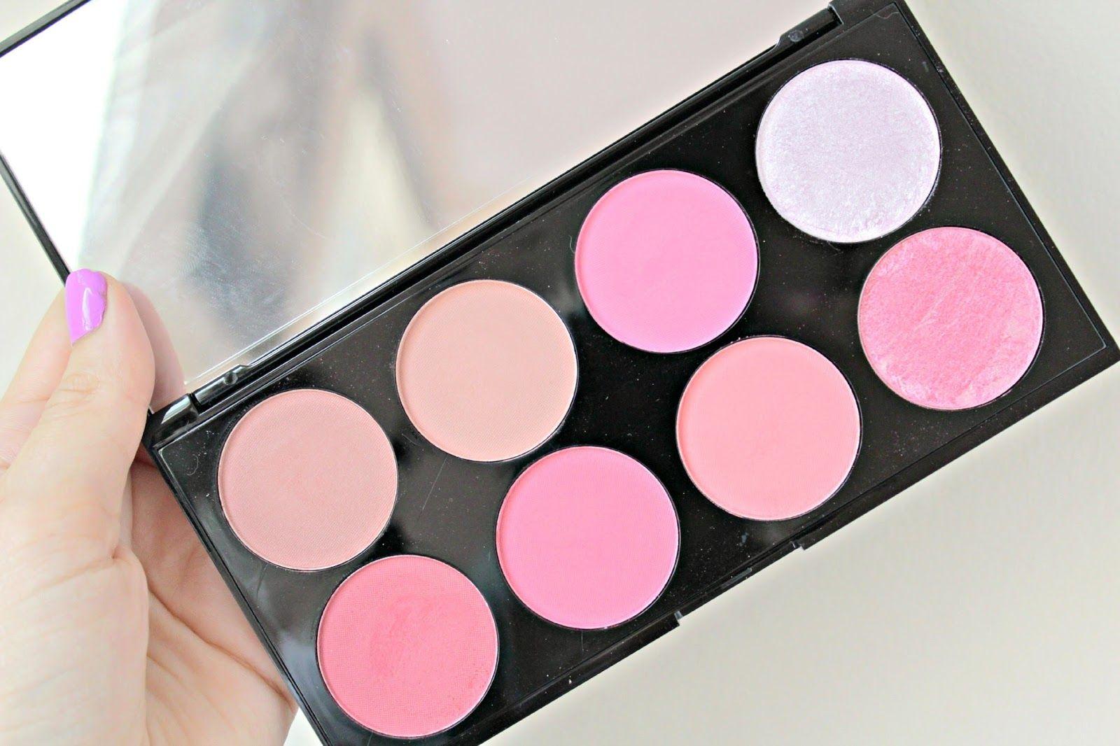 Makeup Revolution Blush & Contour palette Girly makeup