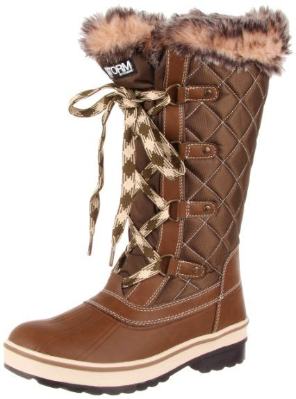 a22f5b30e2c Amazon.com: Storm by Cougar Women's Aspire Quilted Winter Boot ...