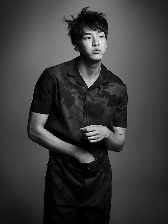 Kim Young Kwang Is Damn Fine In Black And White In Harper's Bazaar Korea | Couch Kimchi