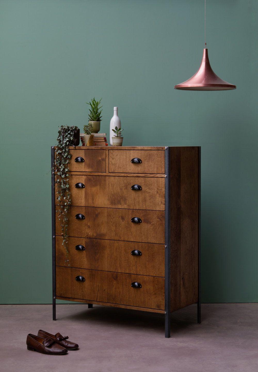 Industrial Dresser — Konk Custom Handmade Furniture in