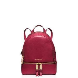 399e740ea553 25% off MICHAEL Michael Kors - Backpack Rhea Zip Extra Small Cherry -  $193.50 #michaelmichaelkors #michaelkors #mmk #mk #backpack