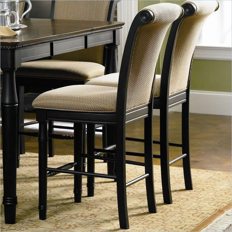 Coaster Cabrillo Counter Height Dining Chair In Rich Dark Black Finish    101829   Lowest Price