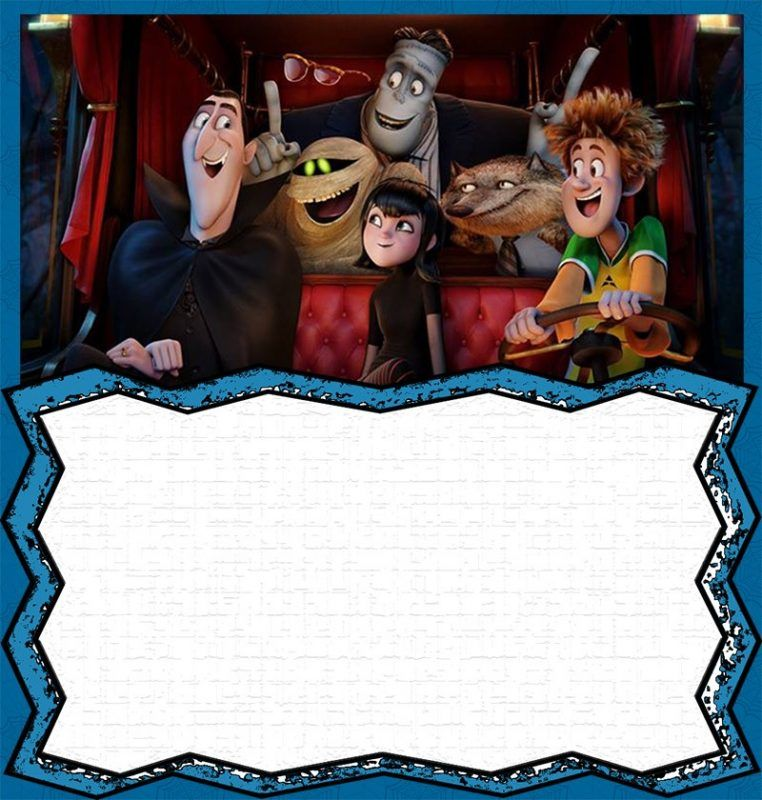 8 Free Hotel Transylvania Invitation Templates With Images