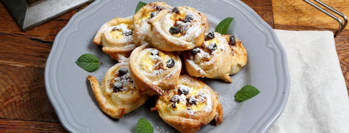 Solčanské tvarohové koláčiky