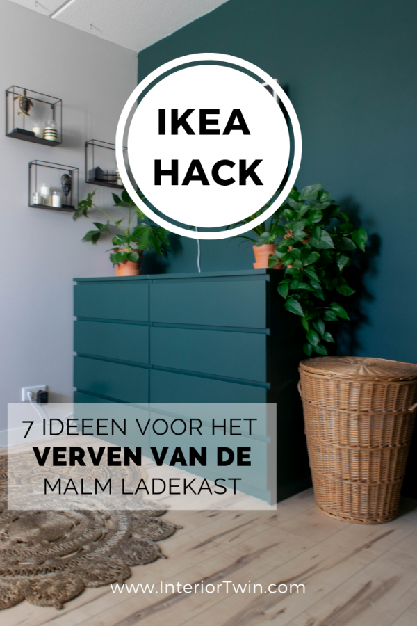 Ikea Hack 7 Ideeen Voor De Malm Ladekast Interiortwin Hack Ideeen Ikea In 2020 Ikea Malm Hack Painting Ikea Furniture Ikea Diy