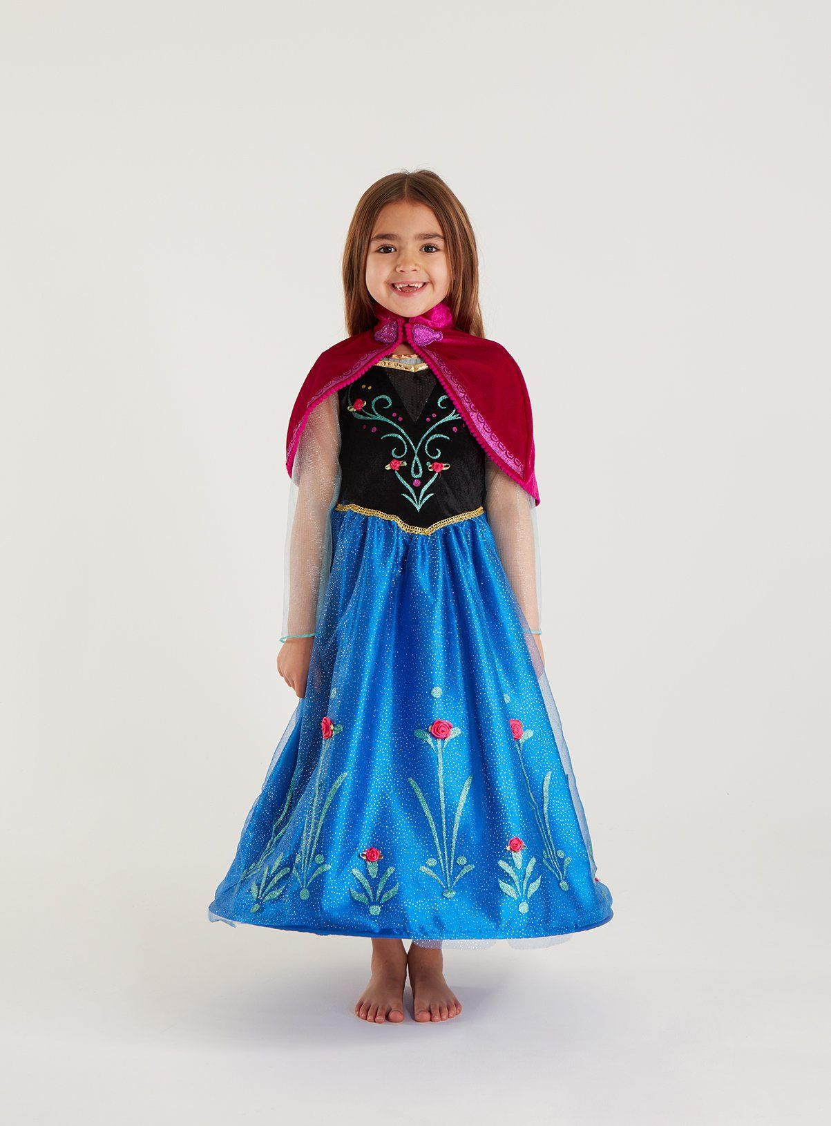 Buy Disney Frozen Blue Anna Costume 78 years Kids