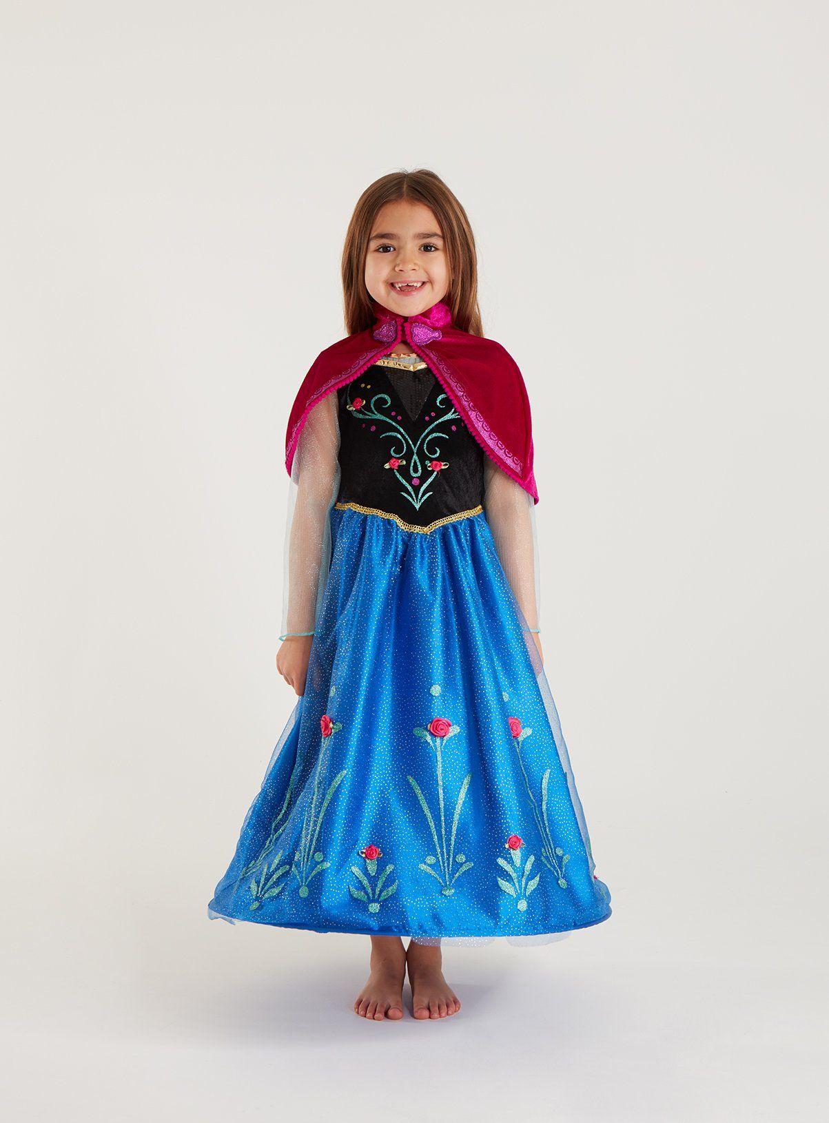 Buy Disney Frozen Blue Anna Costume 78 years Kids