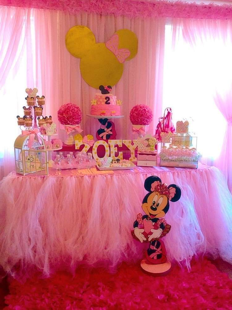 Minnie Mouse Ballerina Birthday Party See More Planning Ideas At CatchMyParty