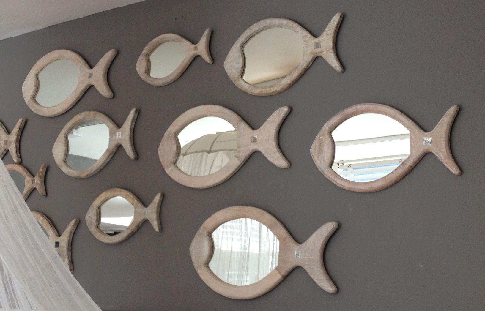 Riviera Maison Spiegel : Fish mirror riviera maison decorations sweet
