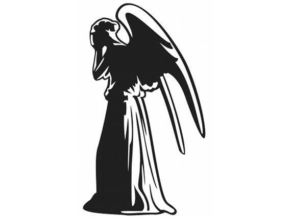 weeping angel dw docml21 on etsy 500 dw vinyl