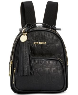 5f1abbce085a Steve Madden New Logo Mini Backpack -  68