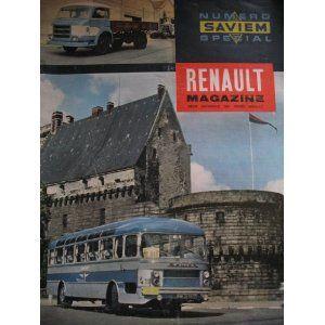 renault magazine du 4e trimestre 1960 n sp cial saviem. Black Bedroom Furniture Sets. Home Design Ideas
