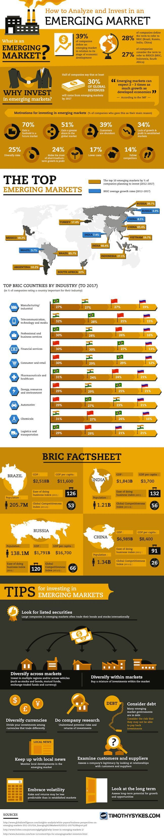 Tips for Investing in Emerging Markets (Infographic) | Reich werden ...