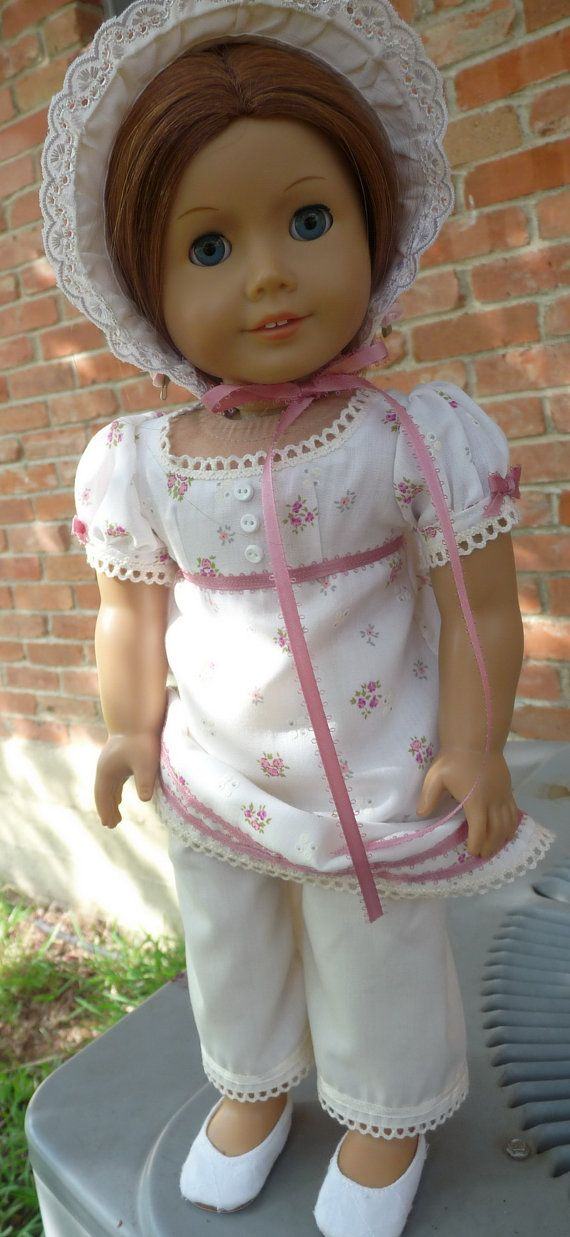 This outfit has been newly made to fit 18 dolls such as American Girl, Gotz, Madame Alexander, Battat and more.    In anticipation of the new