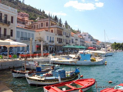 Gytheio - Town in southern Pelopnnese close to my family's village