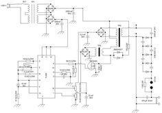 High Voltage Power Supply scheme