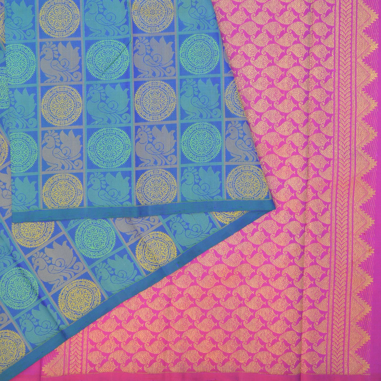 Pure Silk Sari A Pure Silk, Pure Zari, Kanjivaram Saree