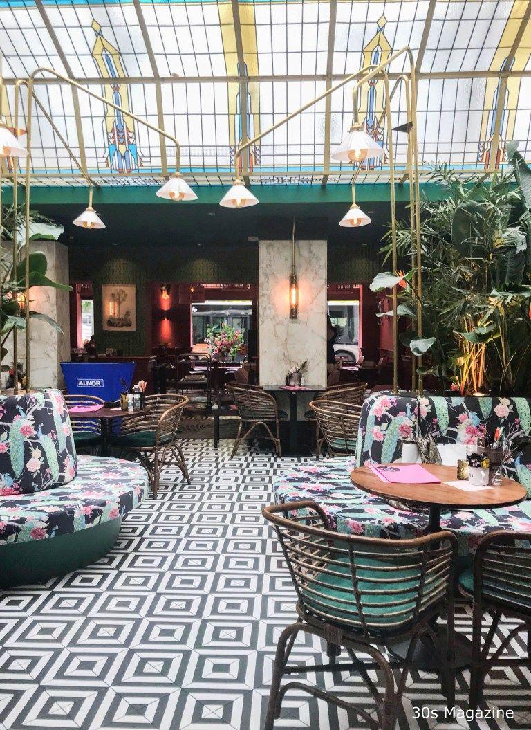 30s Magazine Design Delight At The Streetfood Club In Utrecht Restaurant Interior Design Bar Interior Design Bohemian Style Restaurant