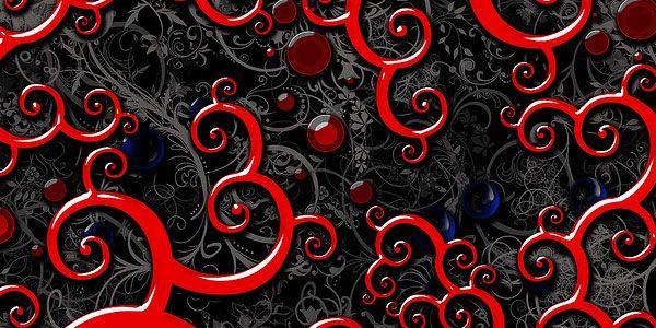 Black And Red Vintage Wallpaper Bg 7