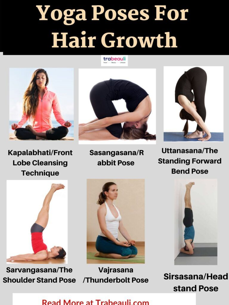 How To Grow Hair Faster In One Month Naturally At Home Trabeauli Hair Loss Control Hair Fall Control Yoga Hair