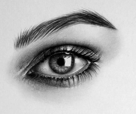 Pencil Sketches Eyes