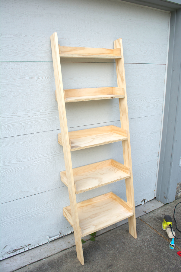 Photo of How to Build a DIY Leaning Ladder Shelf (Step by Step Guide) | brepurposed
