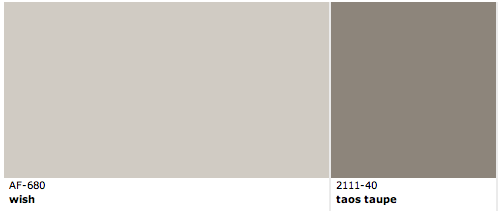 Benjamin moore wish and taos taupe covemont pinterest a tan stripes and love this Benjamin moore taupe exterior