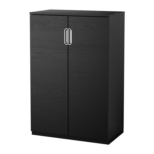 Galant armario con puertas negro marr n ikea181 entrada recibidor pinterest recibidor - Armarios oficina ikea ...