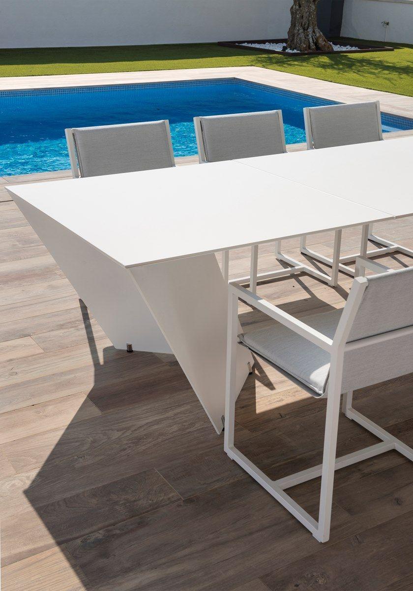 Big Rectangular Garden Design Angle Table By CalmaTables Size f6gyYb7